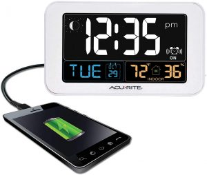 AcuRite Intelli-Time Alarm Clock